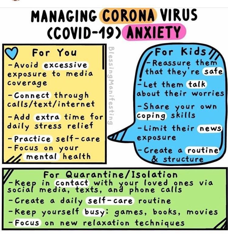 Coronavirus Stress Management